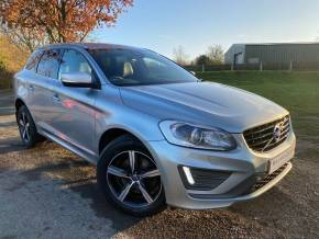 Volvo XC60 2.0 T5 [245] R DESIGN Lux Nav 5dr Geartronic (Heated Seats! Privacy Glass! ++) Estate Petrol Electric Silver Premium Metallic at Williams Group Ltd Maidstone