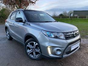 Suzuki Vitara 1.6 SZ5 ALLGRIP 5dr Auto (Low Miles! Adaptive Cruise! +++) Hatchback Petrol Galactic Grey And Cosmic Black at Williams Group Ltd Maidstone