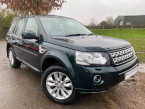 Land Rover Freelander 2.2 SD4 HSE 5dr Auto (Rear Camera! Rear Spoiler! +++) Estate Diesel Aintree Green Metallic at Williams Group Ltd Maidstone