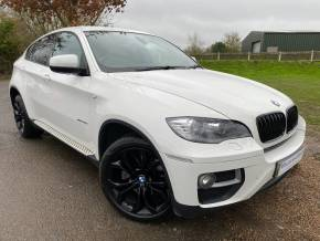 BMW X6 3.0 xDrive40d 5dr Step Auto (Media Pack! 20in Alloys! +++) Coupe Diesel Alpine White at Williams Group Ltd Maidstone