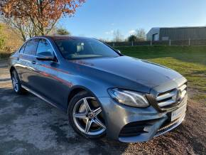 Mercedes-Benz E Class 2.0 E300de AMG Line 4dr 9G-Tronic (18in Alloys! Park Assist! +++) Saloon Diesel / Electric Hybrid Selenite Grey Metallic at Williams Group Ltd Maidstone