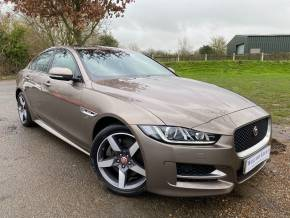 Jaguar XE 2.0d R-Sport Auto (s/s) 4dr (Pan Roof! 18in Alloys! +++) Saloon Diesel Quartzite Bronze Metallic at Williams Group Ltd Maidstone