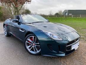 Jaguar F-type 3.0 Supercharged V6 S 2dr Auto AWD Convertible Petrol Green at Williams Group Ltd Maidstone