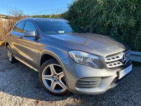 Mercedes-Benz GLA 2.1 GLA 200d AMG Line 5dr Auto (19in Alloys! Full Merc SH! +++) Estate Diesel Mountain Grey Metallic at Williams Group Ltd Maidstone