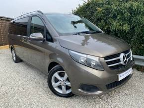 Mercedes-Benz V Class 2.1 V220 BlueTEC SE 5dr Auto [Extra Long] (Sat Nav! Rear Camera! ++) MPV Diesel Indium Grey Metallic at Williams Group Ltd Maidstone