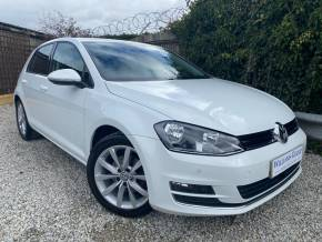 Volkswagen Golf 1.4 TSI GT 5dr (FSH! Adaptive Cruise! +++) Hatchback Petrol Pure White at Williams Group Ltd Maidstone