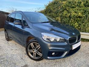 BMW 2 Series 1.5 216d Sport 5dr Step Auto (Sat Nav! Privacy Glass! +++) Estate Diesel Atlantic Grey Metallic at Williams Group Ltd Maidstone