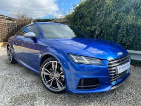 Audi TTS 2.0T FSI Quattro TTS 2dr S Tronic (Tech Pack! Matrix LEDs! +++) Coupe Petrol Sepang Blue Pearl at Williams Group Ltd Maidstone