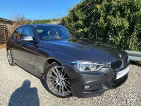 BMW 3 Series 3.0 330d M Sport 4dr Step Auto (19in Alloys! Full BMW SH! ++) Saloon Diesel Mineral Grey Metallic at Williams Group Ltd Maidstone