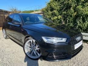 Audi A6 2.0 TDI Ultra Black Edition 5dr S Tronic (Keyless! Hands Free Bootlid! +) Estate Diesel Mythos Black Metallic at Williams Group Ltd Maidstone
