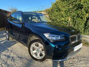 BMW X1 2.0 xDrive20i SE 5dr Step Auto (Full BMW SH! Full Leather! ++) Estate Petrol Midnight Blue Metallic at Williams Group Ltd Maidstone