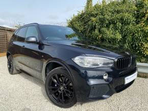 BMW X5 3.0 xDrive40d M Sport 5dr Auto [7 Seat] (20in Alloys! 7 Seats! HUD! +++) Estate Diesel Carbon Black Metallic at Williams Group Ltd Maidstone