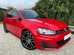 Volkswagen Golf 2.0 TDI GTD 5dr DSG (FSH! Car Net Connect! +++) Hatchback Diesel Tornado Red at Williams Group Ltd Maidstone