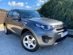 Land Rover Discovery Sport 2.0 eD4 SE 5dr 2WD [5 seat] (Lane Departure Warning! FSH! ++) Estate Diesel Corris Grey Metallic at Williams Group Ltd Maidstone