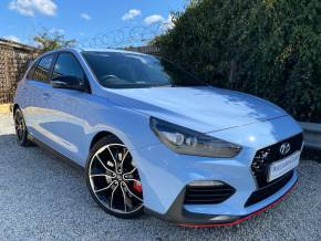 Hyundai i30 2.0T GDI N Performance 5dr (Low Miles! FSH! +++) Hatchback Petrol Performance Blue at Williams Group Ltd Maidstone