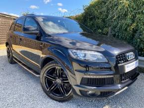 Audi Q7 3.0 TFSI [333] Quattro S Line 5dr Tip Auto (Huge Spec! Tech Pack! +++) Estate Petrol Orca Black Pearl at Williams Group Ltd Maidstone