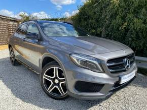 Mercedes-Benz GLA 2.0 GLA 220 CDI AMG Line (Premium Plus) 4MATIC 5dr (Night Pack! 19in Alloys! ++) Hatchback Diesel Mountain Grey Metallic at Williams Group Ltd Maidstone