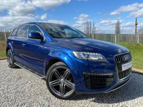 Audi Q7 3.0 TDI 245 Quattro S Line Sport Ed 5dr Tip Auto Estate Diesel Blue at Williams Group Ltd Maidstone