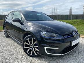 Volkswagen Golf 1.4 TSI GTE 5dr DSG (Nav Pro! Pan Roof! Rear Cam! +) Hatchback Petrol / Electric Hybrid Deep Black Pearl at Williams Group Ltd Maidstone