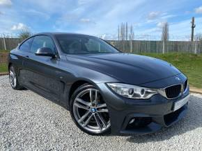 BMW 4 Series 2.0 430i M Sport 2dr Auto [Professional Media] (19in Alloys! Privacy Glass! ++) Coupe Petrol Mineral Grey Metallic at Williams Group Ltd Maidstone