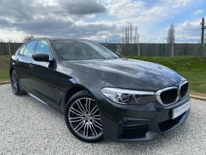 BMW 5 Series 2.0 530e M Sport 4dr Auto (Full BMW SH! LED Headlights! +) Saloon Petrol / Electric Hybrid Sophisto Grey Xirallic Metallic at Williams Group Ltd Maidstone