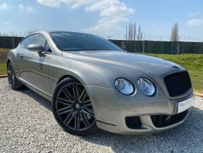 Bentley Continental GT 6.0 W12 Speed 2dr Auto (Ceramic Brakes! Over £23,000 Options! +) Coupe Petrol Venusian Grey Metallic at Williams Group Ltd Maidstone