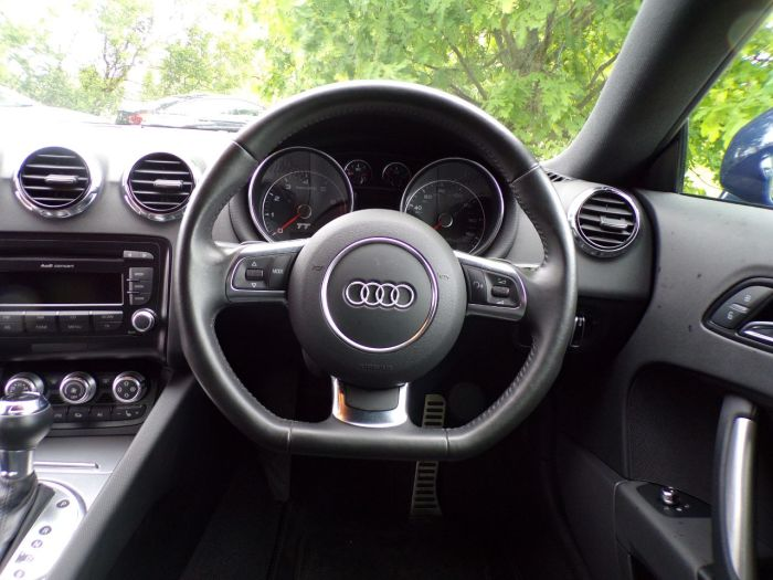 Audi TT 2.0 TFSI Sport S Tronic Quattro 3dr (Heated Seats! Full Leather! ++) Coupe Petrol Scuba Blue Metallic