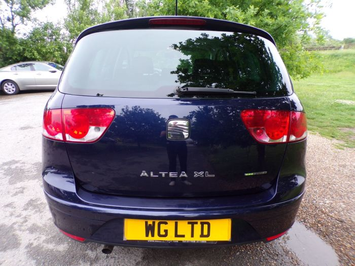 Seat Altea XL 1.6 TDI CR Ecomotive SE 5dr (FSH! Metallic Paint! +++) Estate Diesel Ada Blue Metallic