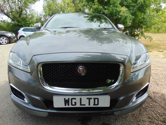 Jaguar Xj 5.0 V8 Supercharged XJR 4dr Auto (Low Miles! TV! Privacy Glass! ++) Saloon Petrol Ammonite Grey