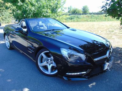 Mercedes-Benz SL Class 3.5 SL 350 AMG Sport 2dr Auto (AMG Sport Pack! Pan Roof! ++++) Convertible Petrol Obsidian BlackMercedes-Benz SL Class 3.5 SL 350 AMG Sport 2dr Auto (AMG Sport Pack! Pan Roof! ++++) Convertible Petrol Obsidian Black at Williams Group Maidstone
