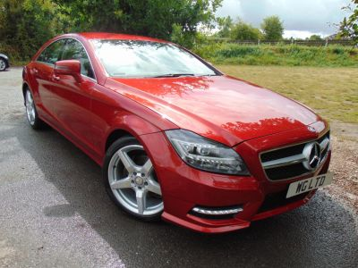 Mercedes-Benz CLS 2.1 CLS 250 CDI BlueEFFICIENCY AMG Sport 4dr Tip Auto (COMAND! Heated Seats! ++) Coupe Diesel Hyacinth RedMercedes-Benz CLS 2.1 CLS 250 CDI BlueEFFICIENCY AMG Sport 4dr Tip Auto (COMAND! Heated Seats! ++) Coupe Diesel Hyacinth Red at Williams Group Maidstone