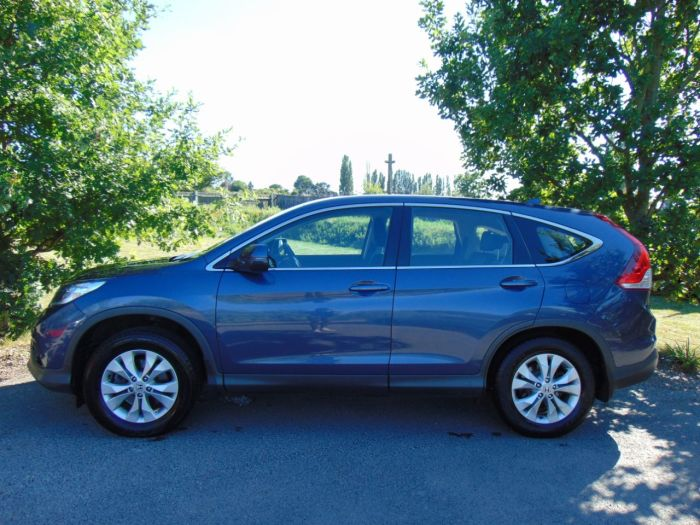 Honda CR-V 2.2 i-DTEC SE 5dr Auto (DAB! Rear Camera! +++) Estate Diesel Twilight Blue