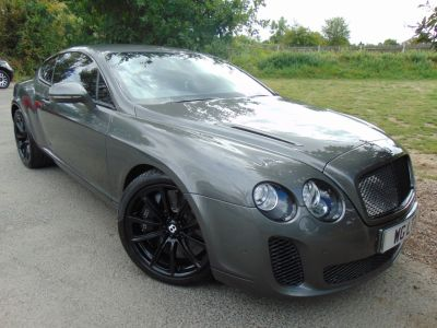Bentley Continental GT 6.0 W12 Supersports 2dr Auto (Comfort Seats! Rear Camera! ++) Coupe Petrol Granite GreyBentley Continental GT 6.0 W12 Supersports 2dr Auto (Comfort Seats! Rear Camera! ++) Coupe Petrol Granite Grey at Williams Group Maidstone