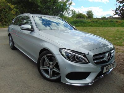 Mercedes-Benz C Class 2.1 C300h AMG Line 5dr Auto (Rear camera! LED Headlights! ++) Estate Diesel / Electric Hybrid Iridium Silver MetallicMercedes-Benz C Class 2.1 C300h AMG Line 5dr Auto (Rear camera! LED Headlights! ++) Estate Diesel / Electric Hybrid Iridium Silver Metallic at Williams Group Maidstone Maidstone