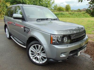 Land Rover Range Rover Sport 3.0 SDV6 HSE 5dr Auto (TV! DAB! Keyless! Rear Cam! ++) Estate Diesel Orkney Grey MetallicLand Rover Range Rover Sport 3.0 SDV6 HSE 5dr Auto (TV! DAB! Keyless! Rear Cam! ++) Estate Diesel Orkney Grey Metallic at Williams Group Maidstone Maidstone