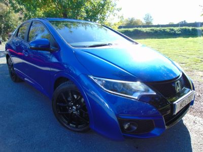 Honda Civic 1.6 i-DTEC Sport 5dr (Rear Cam! DAB! Cruise! +++) Hatchback Diesel Aegean Blue MetallicHonda Civic 1.6 i-DTEC Sport 5dr (Rear Cam! DAB! Cruise! +++) Hatchback Diesel Aegean Blue Metallic at Williams Group Maidstone