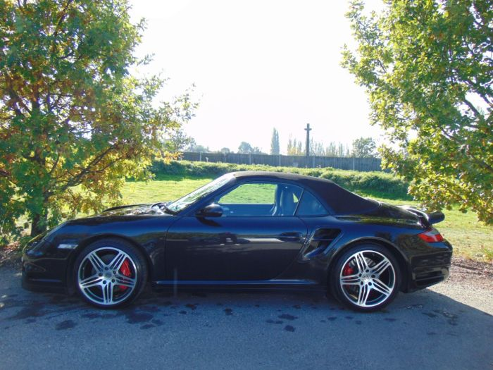 Porsche 911 Turbo 3.6 997 Turbo Cabriolet Tiptronic S AWD (Bluetooth! Heated Seats! +++) Coupe Petrol Basalt Black