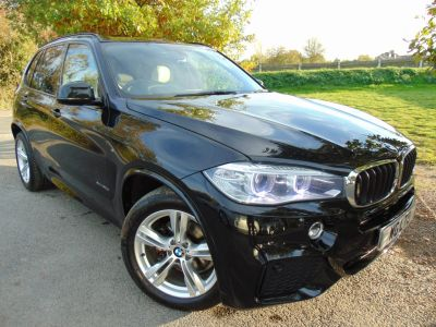BMW X5 3.0 xDrive30d M Sport 5dr Auto [7 Seat] (7 Seats! BMW Advanced Sound! ++) Estate Diesel Sapphire Black MetallicBMW X5 3.0 xDrive30d M Sport 5dr Auto [7 Seat] (7 Seats! BMW Advanced Sound! ++) Estate Diesel Sapphire Black Metallic at Williams Group Maidstone