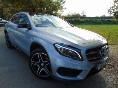 Mercedes-Benz Gla Class 2.0 GLA 250 4Matic AMG Line 5dr Auto [Premium Plus] (AMG Exclusive Pack! COMAND! ++) Estate Petrol Iridium Silver MetallicMercedes-Benz Gla Class 2.0 GLA 250 4Matic AMG Line 5dr Auto [Premium Plus] (AMG Exclusive Pack! COMAND! ++) Estate Petrol Iridium Silver Metallic at Williams Group Maidstone