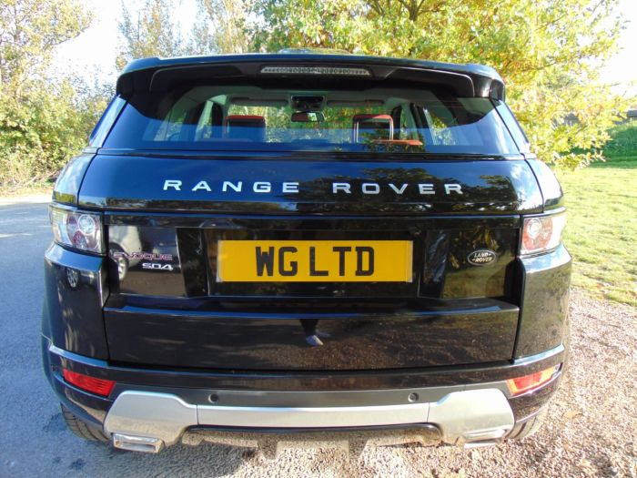 Land Rover Range Rover Evoque 2.2 SD4 Dynamic 5dr Auto [Lux Pack] (Rear Entertainment! 20in Alloys! ++) Estate Diesel Santorini Black Metallic