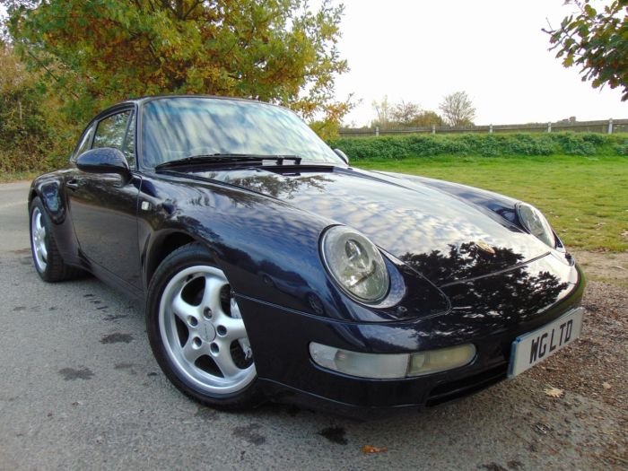 Porsche 911 Carrera 4 3.6 993 Carrera 4 AWD 2dr (17in Cup Alloys! Sun Roof! ++) Coupe Petrol Night Blue
