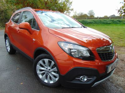 Vauxhall Mokka 1.6 CDTi SE 5dr 4WD (FSH! Metallic! Heated S/Wheel! +) Hatchback Diesel Orange Rock MetallicVauxhall Mokka 1.6 CDTi SE 5dr 4WD (FSH! Metallic! Heated S/Wheel! +) Hatchback Diesel Orange Rock Metallic at Williams Group Maidstone