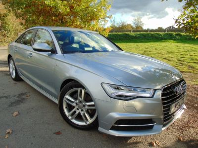 Audi A6 2.0 TDI Ultra S Line 4dr S Tronic (Heated Seats! Heated Seats! +++) Saloon Diesel Floret Silver MetallicAudi A6 2.0 TDI Ultra S Line 4dr S Tronic (Heated Seats! Heated Seats! +++) Saloon Diesel Floret Silver Metallic at Williams Group Maidstone
