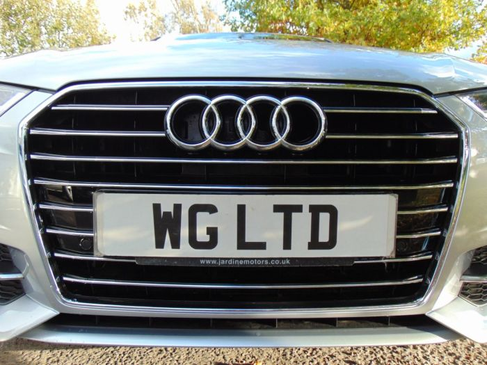 Audi A6 2.0 TDI Ultra S Line 4dr S Tronic (Heated Seats! Heated Seats! +++) Saloon Diesel Floret Silver Metallic