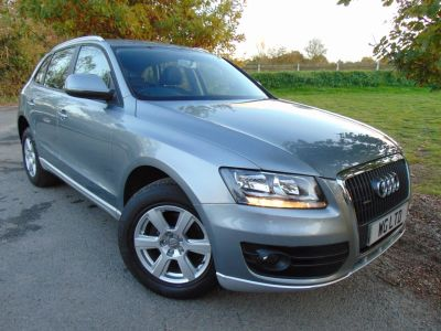 Audi Q5 2.0 TDI Quattro 5dr (Bluetooth! Full Audi SH! ++) Estate Diesel Quartz Grey PearlAudi Q5 2.0 TDI Quattro 5dr (Bluetooth! Full Audi SH! ++) Estate Diesel Quartz Grey Pearl at Williams Group Maidstone