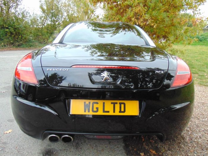 Peugeot RCZ 2.0 HDi GT 2dr (Interior Sports Kit! +++) Coupe Diesel Nera Black Metallic