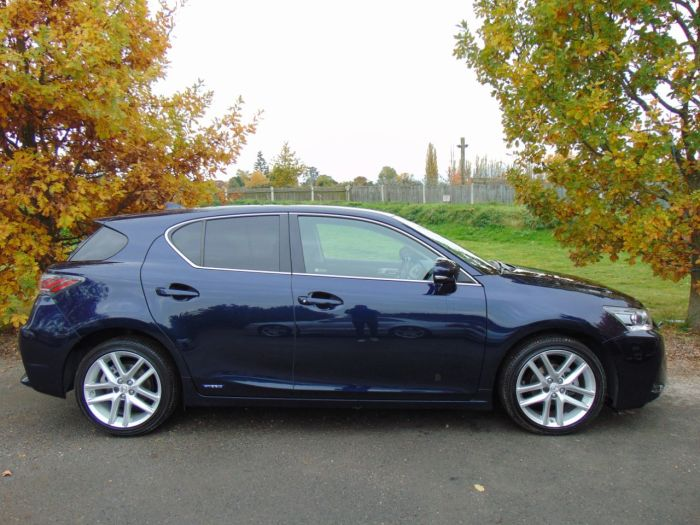 Lexus CT 200h 1.8 Advance 5dr CVT Auto (Full Lexus SH! Nav! 1 Owner! ++) Hatchback Petrol / Electric Hybrid Nightfall Blue Mica