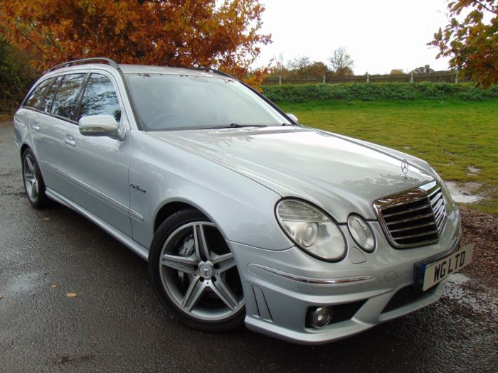 Mercedes-Benz E Class 6.2 E63K 5dr Tip Auto (FSH! Dynamic Seats! COMMAND! ++) Estate Petrol Iridium Silver Metallic