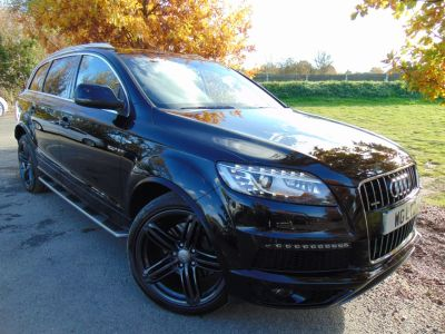 Audi Q7 3.0 TDI 245 Quattro S Line Plus 5dr Tip Auto (Comfort Pack! Pan Roof! BOSE! ++) Estate Diesel Orca Black MetallicAudi Q7 3.0 TDI 245 Quattro S Line Plus 5dr Tip Auto (Comfort Pack! Pan Roof! BOSE! ++) Estate Diesel Orca Black Metallic at Williams Group Maidstone