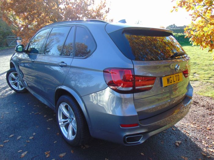 BMW X5 3.0 xDrive30d M Sport 5dr Auto [7 Seat] (Pan Roof! 7 Seats! +++) Estate Diesel Space Grey Metallic